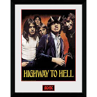 Ac/Dc Highway To Hell Collector Print