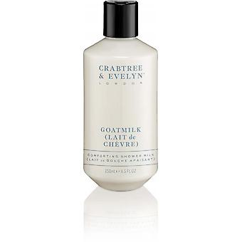 Crabtree & Evelyn - Goatmilk ducha calmante 250 ml de leche-