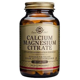 Solgar Calcium Magnesium Citrate Tablets (Vitamins & supplements , Minerals)