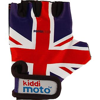Kiddimoto Cycling Gloves Union Jack