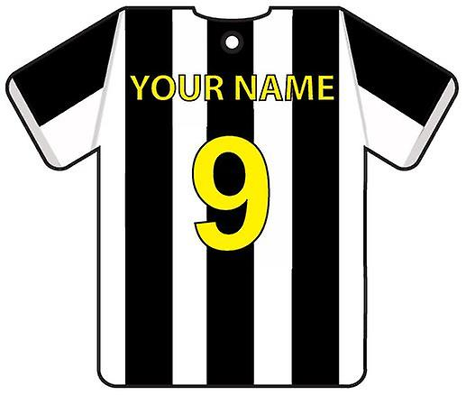 Personalised Juventus Football Shirt Car Air Freshener