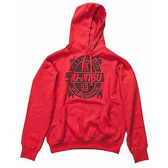 Tatami Fightwear Jiu-Jitsu hættetrøje - rød