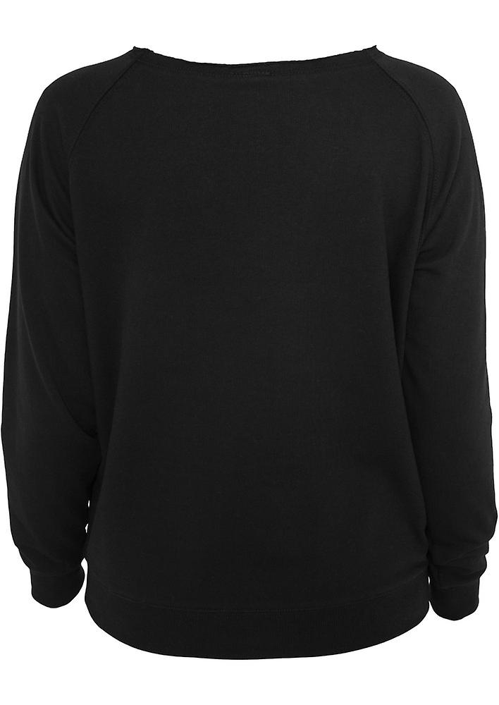 Urban Classics Ladies Sweater OpenEdge Crewneck