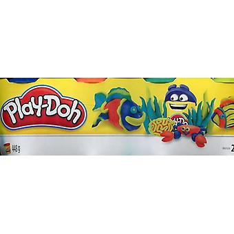 Play-Doh Assortment Colour Classic Tubs Pack of 4  140 G