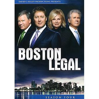Boston Legal: Season 4 [DVD] USA import
