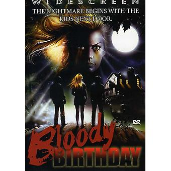 Bloody Birthday [DVD] USA import