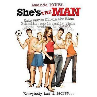Hun er mand [DVD] USA importen