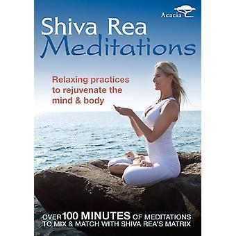 Shiva Rea: Meditations [DVD] USA import