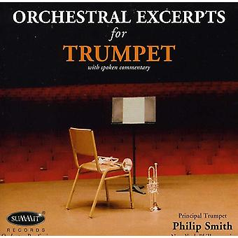 Philip Smith - Orchestral Excerpts for Trumpet [CD] USA import