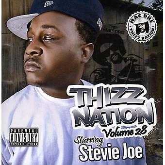 Mac Dre præsenterer - Mac Dre præsenterer: Vol. 28-Thizz Nation-stjernespækket Stevie Joe [CD] USA import