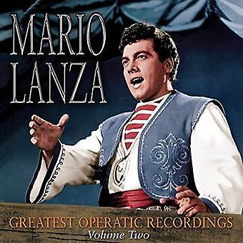 Mario Lanza - importación de Estados Unidos más grande ópera grabaciones 2 [CD]