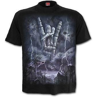 Spiral - ROCK ETERNAL - Men's Short Sleeve T-Shirt, Black