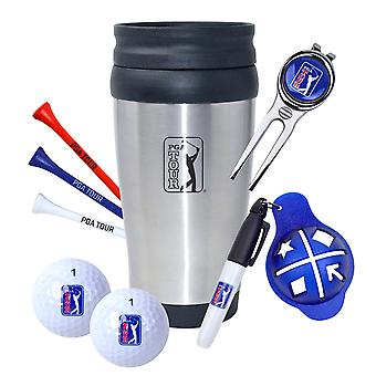 PGA Tour Travel Mug Gift Set Golf-Geschenkset