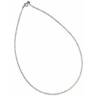 925 Silber Perle Halskette