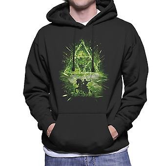 Triforce Storm Legend of Zelda män är Hooded Sweatshirt