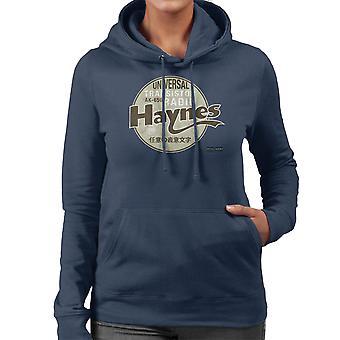Haynes Brand Universal AK 650 Transistor Radio Women's Hooded Sweatshirt