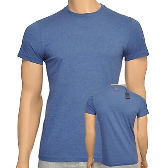 DSQUARED2 Cotton Crew Neck Short Sleeve T-Shirt, Blue, X-Large