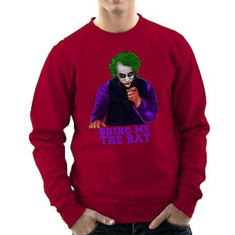 Batman Joker Bring Me The Bat Men's Sweatshirt