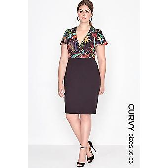 Paper Dolls Curvy 2 In 1 Bodycon Dress