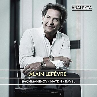 Alain Lef? VRE - Rachmaninoff Haydn-Ravel [CD] USA import