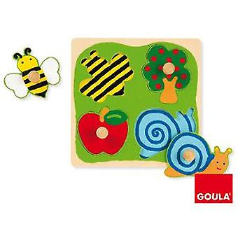 Goula Puzzle Field (Toys , Preschool , Puzzles And Blocs)