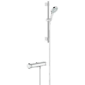 Grohe TSO 2000 thermostat shower seen + shower