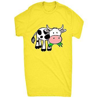Renommierten Kuh kaute Grass Moo_vectorized