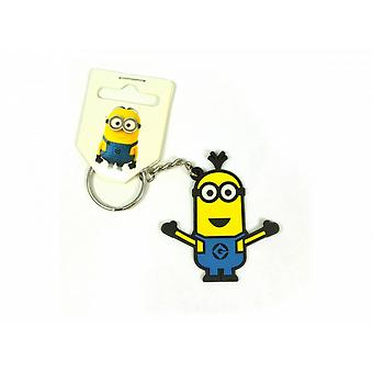 Despicable Me Official Minions Tim PVC Keyring