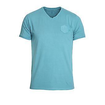 883 policía Headhunterz con cuello en v camiseta