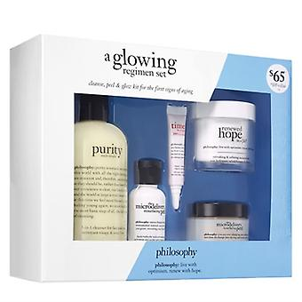 Philosophy A Glowing Regimen 5 Piece Set