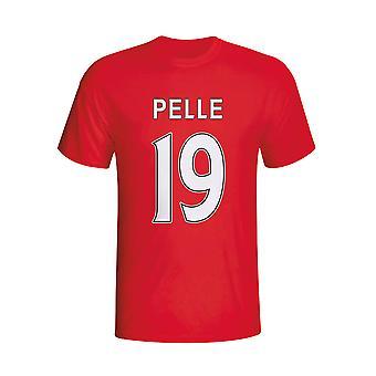 Graziano Pelle Southampton herói t-shirt (vermelho) - crianças
