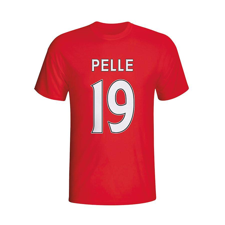 Graziano Pelle Southampton helten T-shirt (rød)