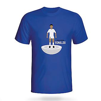 Cristiano Ronaldo Real Madrid Subbuteo Tee (blue) - Kids