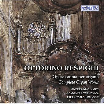 Respighi / Macinanti - Respighi: komplet orgelværker [CD] USA import