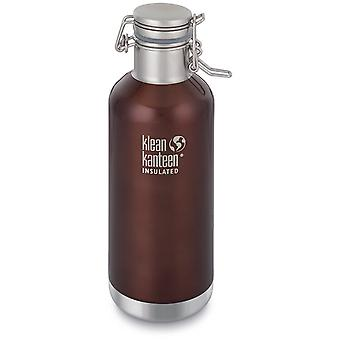 Klean Kanteen Vacuum Insulated Growler with Swing Lok Cap 946ml (Dark Amber)