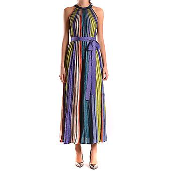Missoni Damen KD0KD11U23A0NO Multicolour Polyamid Kleid