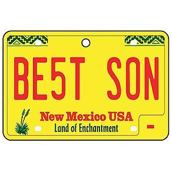 Nuevo México - mejor hijo matrícula ambientador