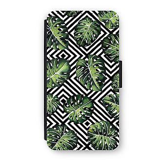 Huawei P9 Flip Case - Geometric jungle