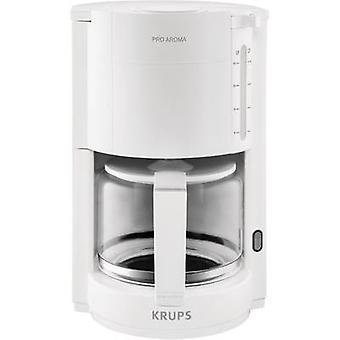 Coffee maker Krups ProAroma White Cup volume=15