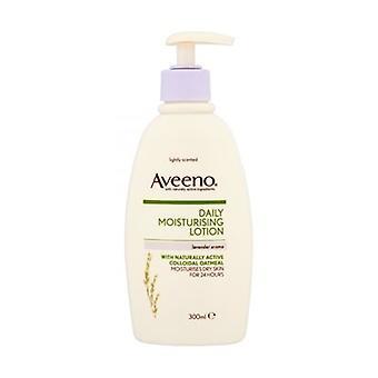 Aveeno ежедневно увлажняющий лосьон с ароматом лаванды