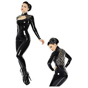 Westward Bound Bordelle-L'Amour Trixi Latex Rubber Catsuit.