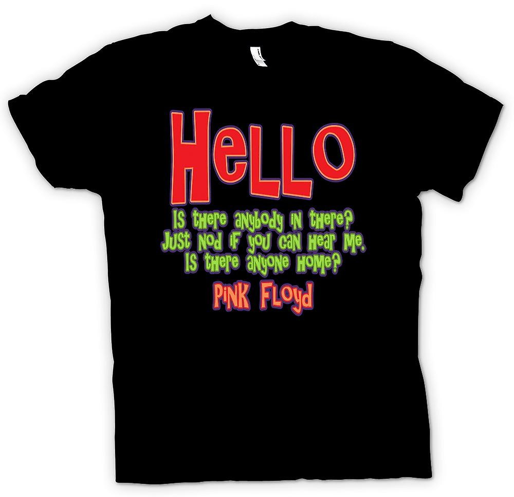 Kids T-shirt - Hello Is There Anybody In There? Quote - Pink Floyd