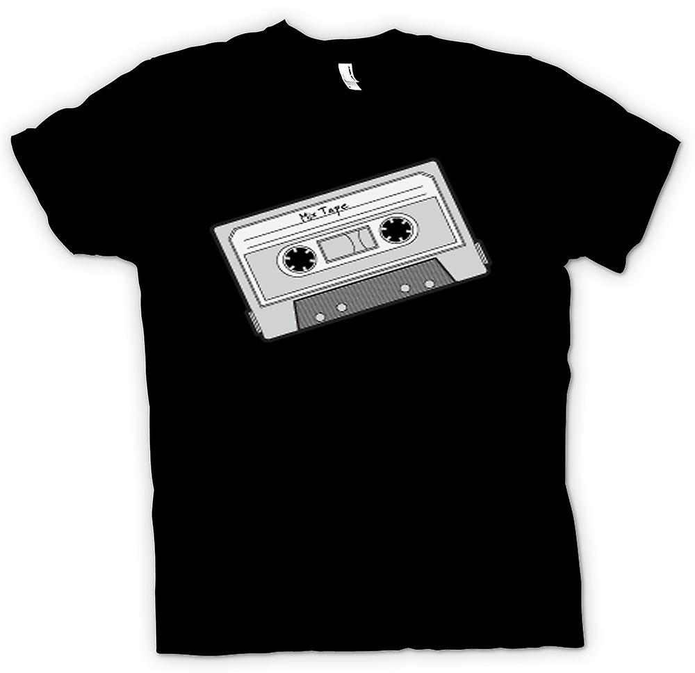 Womens T-shirt - Oldschool Cassette Tape