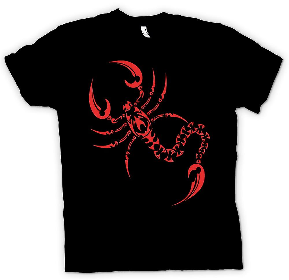 Womens T-shirt - Scorpion Tribal Design