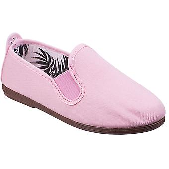Flossy Girls Arnedo Slip On Cotton Canvas Casual Summer Pumps Shoes