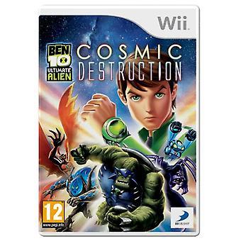 Ben 10 Ultimate Alien Cosmic Destruction (Wii)