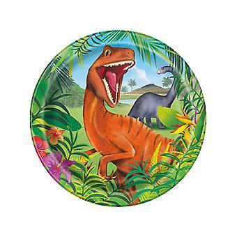 Dinosaurier-Platten 9â€