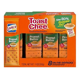 Lance Toast Chee Reduced Fat Peanut Butter Sandwich Crackers