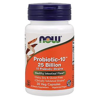 Now Foods Probiotic-10 25 Billion 30 Veggie Capsules