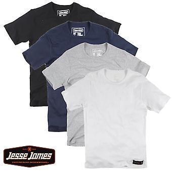 Jesse James T-Shirt sturdy work Pocket